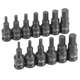 Grey Pneumatic 1298HC 13-Piece 3/8 in. Drive SAE and Metric Hex Impact Socket Set