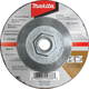 Makita A-95984-25 INOX 4-1/2 in. x 1/4 in. x 5/8-11 in. Grinding Wheel (25-Pack)