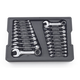 GearWrench 81903 20-Piece SAE/Metric Stubby Combination Non-Ratcheting Wrench Set