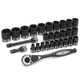 Grey Pneumatic 82629M 29-Piece 1/2 in. Drive 6-Point Metric Duo Impact Socket Set