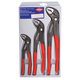 Knipex 002006S1 3-Piece 7/10/12 in. Cobra High-Tech Water Pump Pliers Set