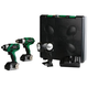 Factory Reconditioned Hitachi KC18DHL HXP 18V Cordless Lithium-Ion 3-Tool Combo Kit