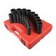 Sunex Tools 2820 19-Piece 1/2 in. Drive 12-Point SAE Deep Impact Socket Set