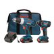 Factory Reconditioned Bosch CLPK23-180-RT 18V Cordless Lithium-Ion Drill Driver and Impact Driver Combo Kit