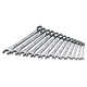 SK Hand Tool 86123 13-Piece 6-Point Combination Metric Wrench Set