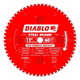 Diablo D1260CF 12 in. 60 Tooth Steel Demon Cermet and Ferrous Metal Saw Blade