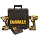 Dewalt DCK296P2 20V MAX XR 5.0 Ah Cordless Lithium-Ion Hammer Drill & Impact Driver Combo Kit