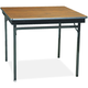 Barricks CL36WA 36 in. x 36 in. x 30 in. Special Size Folding Table (Walnut)