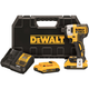 Dewalt DCF887D2 20V MAX XR 2.0 Ah Cordless Lithium-Ion 1/4 in. Brushless Impact Driver Kit
