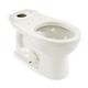 TOTO C744E-01 Drake Elongated Toilet Bowl (Cotton White)