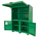 Greenlee 8060DLX 116.5 cu-ft. 41.6 x 55.6 x 80 in. Field Office Storage Box/Cabinet
