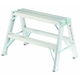 Louisville L-2032-02 2 ft. Type IA Duty Rating 300 lbs. Load Capacity Aluminum Sawhorse Ladder