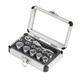 Sunex 9723 13-Piece 1/4 in. Drive Universal Spline Socket Set with Mini-Flex Head Ratchet