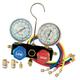 FJC 6697 R134a/R12/R22 Dual Manifold Gauge Set