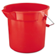 Rubbermaid 2614RED BRUTE 14 Quart Round Utility Pail (Red)