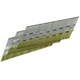 SENCO DA15EABN 15-Gauge 1-1/4 in. Electro-Galvanized 34 Degree Finish Nails (4,000-Pack)