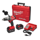 Milwaukee 2704-22 FUEL M18 18V 5.0 Ah Cordless Lithium-Ion 1/2 in. Hammer Drill Driver Kit