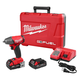 Milwaukee 2754-22CT FUEL M18 18V 2.0 Ah Cordless Lithium-Ion 3/8 in. Compact Impact Wrench with Friction Ring Kit