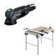 Festool C11495315 Rotex 5 in. Multi-Mode Sander plus Multi-Function Work Table