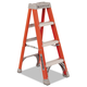 Louisville FS1504 4 ft. Type IA Duty Rating 300 lbs. Load Capacity Fiberglass Step Ladder