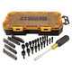 Dewalt DWMT73808 70-Piece Stackable 1/4 in. Multi-Bit and Nut Driver Set