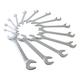 Sunex Tools 9914 14-Piece SAE Angle Head Wrench Set