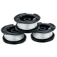 Black & Decker AF-100-3ZP GRASS HOG Replacement Grass Trimmer Spool 0.065 in. (3-Pack)