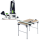 Festool C19495315 Modular Trim Router plus Multi-Function Work Table