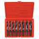 Irwin Hanson 90108 8-Piece 1/2 in. Reduced Shank Siler & Deming Fractional Drill Bit Set