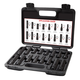 Steelman 78537 16-Piece SAE/Metric Locking Lug Nut Master Key Set