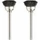 Dremel 404-02 1/2 in. Nylon Bristle Brushes (2-Pack)