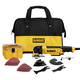 Factory Reconditioned Dewalt DWE315KR 3 Amp Oscillating Tool Kit with 29 Accessories