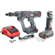 SENCO 7W0005N 18V 1.5 Ah Cordless Lithium-Ion 2 in. Auto-Feed Screw Driver and Spiral Saw Combo Kit