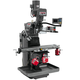 JET 690529 9 in. x 49 in. Mill with 3-Axis Acu-Rite 200S DRO (Knee) with X-, Y- and Z-Axis Powerfeeds