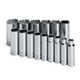 SK Hand Tool 4815 15-Piece 1/2 in. Drive 12-Point Deep SAE Socket Set
