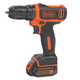 Black & Decker BDCDD12C 12V MAX Cordless Lithium-Ion Drill Driver Kit