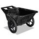 Rubbermaid 5642BLA 300 lb. Capacity Big Wheel Agriculture Cart (Black)