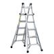 Louisville L-2098-22 22 ft. Type IA Duty Rating 300 lbs. Aluminum Multi-Purpose Ladder