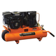 Industrial Air CTA5590856 Contractor 6 HP 8 Gallon Oil-Lube Twin Tank Wheelbarrow Air Compressor with Subaru Engine