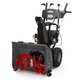 Briggs & Stratton 1696614 208cc 24 in. Dual Stage Medium-Duty Gas Snow Thrower with Electric Start