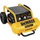 Dewalt D55146 1.6 HP 4.5 Gallon Oil-Free Wheeled Portable Air Compressor