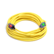 Century Wire D16824100 Sub Zero 15 Amp 12/3 AWG SJEOW Cold Weather Extension Cord - 100 ft. (Yellow)