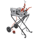 Ridgid 67182 1/2 in. - 2 in. Hammer Chuck Compact Threading Machine with Folding Wheel Stand