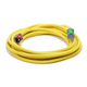 Century Wire D17003100 Pro Glo 15 Amp 10/3 AWG CGM SJTW Extension Cord - 100 ft. (Yellow)