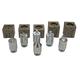 Mastercool 71098 37 Degree Flaring & Double Flaring Adapter Set