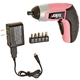 Factory Reconditioned Skil 2354-08-RT 4V Limited Edition Pink IXO Compact Max Lithium-Ion Driver with 5-Piece Bit Set