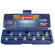 VIM Tool HCT1050 10-Piece Stubby Half/Cut Torx Driver Set