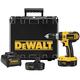 Dewalt DC725KA 18V Cordless 1/2 in. Compact Hammer Drill Kit