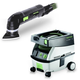Festool PM567856 Deltex Detail Sander with CT MINI 2.6 Gallon Mobile Dust Extractor
