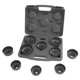 Lisle 61450 10-Piece H.D. End Cap Wrench Set